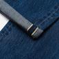 Мужские джинсы Edwin Regular Tapered Dark Pure Indigo Rainbow Selvage 13.5 Oz Blue Mid Dark Used фото - 3