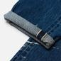 Мужские джинсы Edwin Regular Tapered Dark Pure Indigo Rainbow Selvage 13.5 Oz Blue Mid Used Remake фото - 3