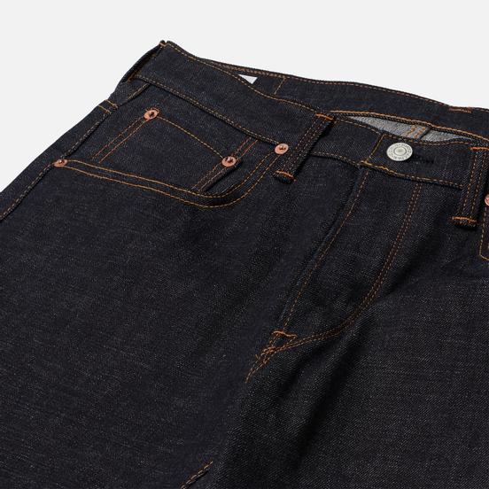 Мужские джинсы Edwin Regular Tapered Dark Pure Indigo Rainbow Selvage 13.5 Oz Blue Raw State