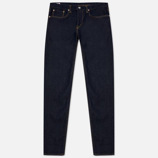 Мужские джинсы Edwin Slim Tapered Kaihara Blue Stretch Denim Green x White Selvage 12.5 Oz Blue Rinsed
