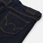 Мужские джинсы Edwin Slim Tapered Kaihara Blue Stretch Denim Green x White Selvage 12.5 Oz Blue Rinsed фото - 2