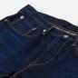 Мужские джинсы Edwin Slim Tapered Kaihara Blue Stretch Denim Green x White Selvage 12.5 Oz Blue Dark Used фото - 1