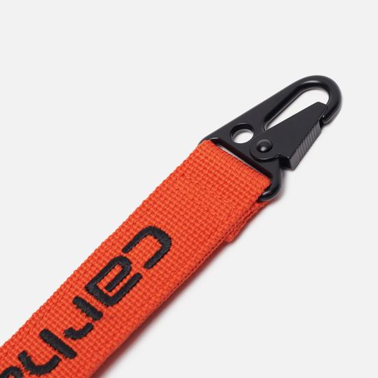 Брелок для ключей Carhartt WIP Jaden Safety Orange/Black
