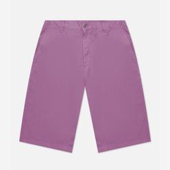 Мужские шорты Edwin Gangis PFD Light Cotton Twill 6.8 Oz Chinese Violet Garment Dyed