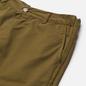 Мужские шорты Edwin Gangis PFD Light Cotton Twill 6.8 Oz Martini Olive Garment Dyed фото - 1