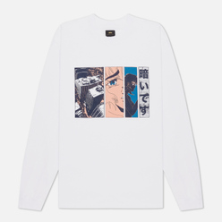 Мужской лонгслив Edwin x Apollo Thomas Oversize White