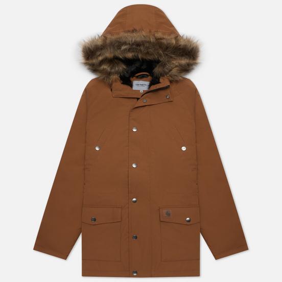 Мужская куртка парка Carhartt WIP Trapper 5.7 Oz Hamilton Brown