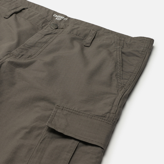 Мужские шорты Carhartt WIP Regular Cargo 6.5 Oz Air Force Grey Rinsed