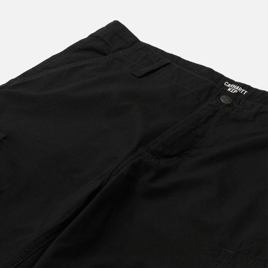 Мужские шорты Carhartt WIP Regular Cargo 6.5 Oz Black Rinsed