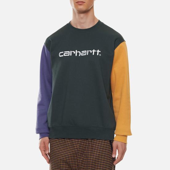 Мужская толстовка Carhartt WIP Tricol 13 Oz Dark Teal