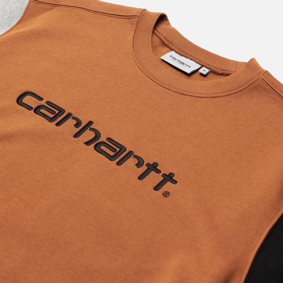 Мужская толстовка Carhartt WIP Tricol 13 Oz Hamilton Brown
