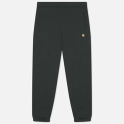 Мужские брюки Carhartt WIP Chase Sweat 13 Oz Dark Teal/Gold