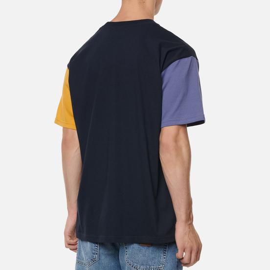 Мужская футболка Carhartt WIP S/S Carhartt Tricol Dark Navy