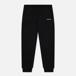 Женские брюки Carhartt WIP W Typeface 11.5 Oz Black/White