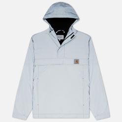 Мужская куртка анорак Carhartt WIP Nimbus Reflective 5.2 Oz Grey Reflective