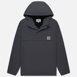 Мужская куртка анорак Carhartt WIP Nimbus 5.3 Oz Blacksmith
