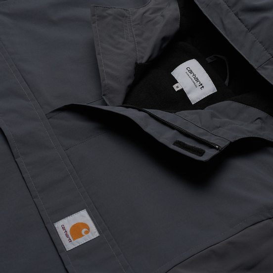 Мужская куртка анорак Carhartt WIP Nimbus 5.3 Oz Blacksmith