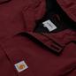 Мужская куртка анорак Carhartt WIP Nimbus 5.3 Oz Bordeaux фото - 1
