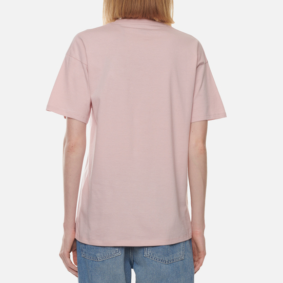 Женская футболка Carhartt WIP W S/S Carrie Pocket Frosted Pink
