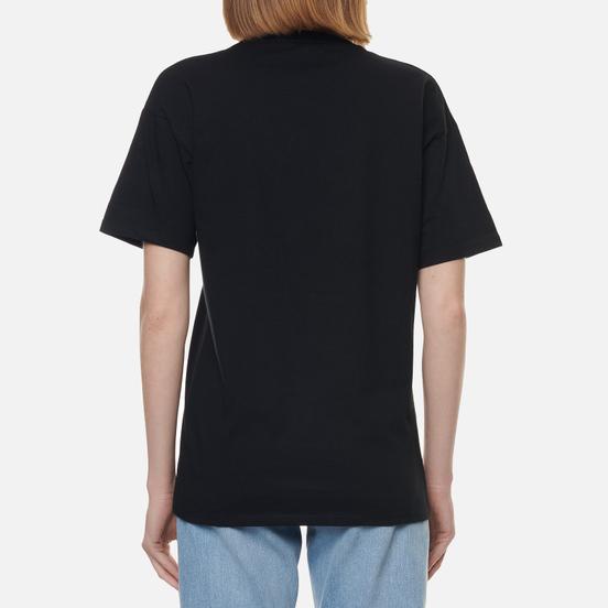 Женская футболка Carhartt WIP W S/S Carrie Pocket Black