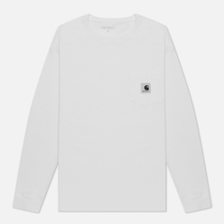 Женский лонгслив Carhartt WIP W L/S Pocket White