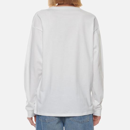 Женский лонгслив Carhartt WIP W L/S Pocket White