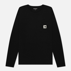 Женский лонгслив Carhartt WIP W L/S Pocket Black