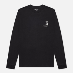 Мужской лонгслив Carhartt WIP L/S Reflective Headlight Black/Reflective Grey