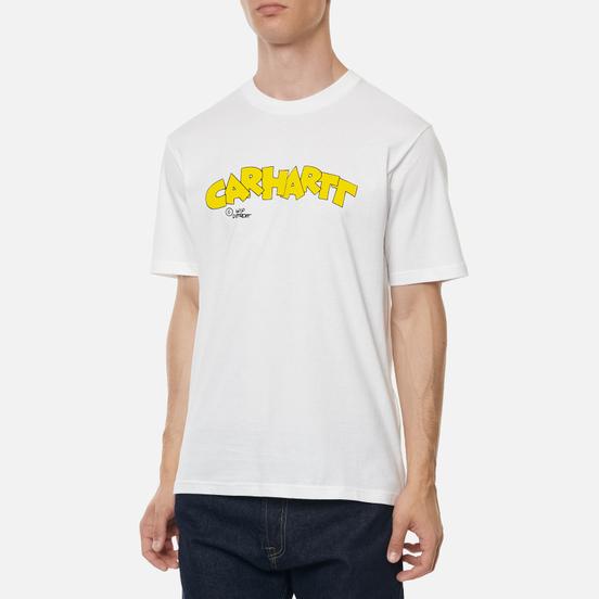 Мужская футболка Carhartt WIP S/S Loony Script White