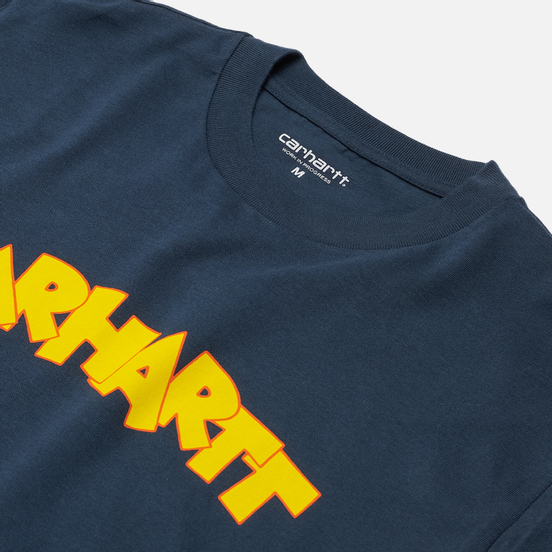 Мужская футболка Carhartt WIP S/S Loony Script Admiral