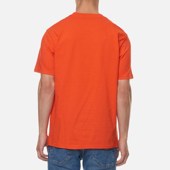 Мужская футболка Carhartt WIP S/S Loony Script Safety Orange