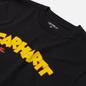 Мужская футболка Carhartt WIP S/S Loony Script Black фото - 1