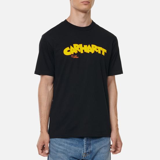 Мужская футболка Carhartt WIP S/S Loony Script Black
