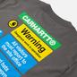 Мужская футболка Carhartt WIP S/S Warning Husky фото - 2