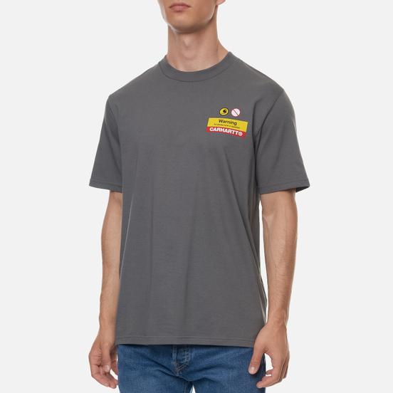 Мужская футболка Carhartt WIP S/S Warning Husky