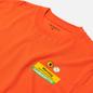 Мужская футболка Carhartt WIP S/S Warning Safety Orange фото - 1