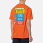 Мужская футболка Carhartt WIP S/S Warning Safety Orange фото - 4