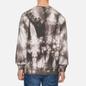 Мужская толстовка Edwin Van Crew Frost Grey Batik Garment Dyed фото - 3