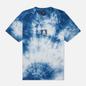 Мужская футболка Edwin Sunrise II Vintage Blue Batik Garment Dyed фото - 0