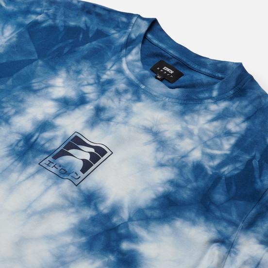 Мужская футболка Edwin Sunrise II Vintage Blue Batik Garment Dyed