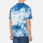 Мужская футболка Edwin Sunrise II Vintage Blue Batik Garment Dyed фото - 3