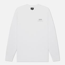 Мужской лонгслив Edwin Logo Chest White