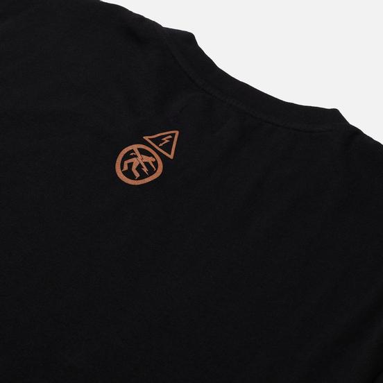 Мужская футболка Edwin Warning Black