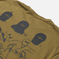 Мужская футболка Edwin Shinobii Martini Olive фото - 2