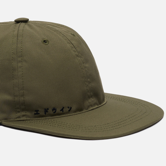 Кепка Edwin Katakana Military Green