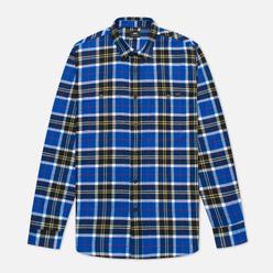 Мужская рубашка Edwin Labour Blue/Black