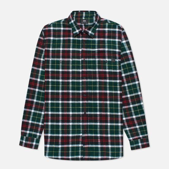 Мужская рубашка Edwin Labour Green/Black