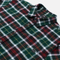 Мужская рубашка Edwin Labour Green/Black фото - 1