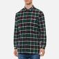 Мужская рубашка Edwin Labour Green/Black фото - 2