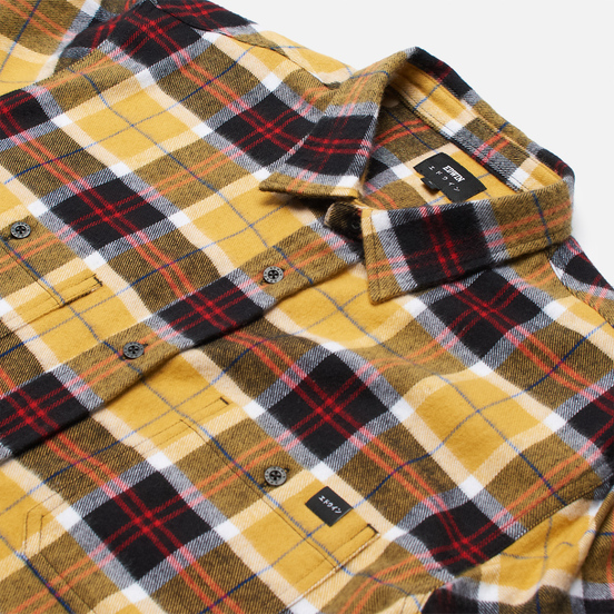 Мужская рубашка Edwin Labour Yellow/Black
